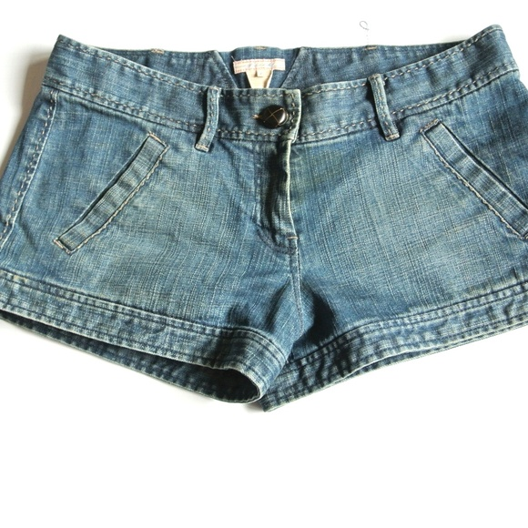 French Connection Pants - 3/$25 French Connection Fcuk denim shorts 6 pocket